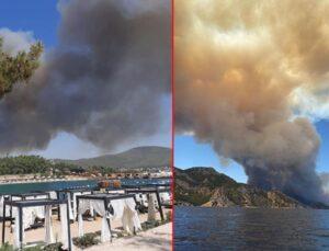 Son Dakika: Türkiye'nin güneyi yanıyor! Antalya'dan sonra Bodrum ve Didim'de de yangın çıktı, alevler yerleşim yerlerine yaklaşıyor