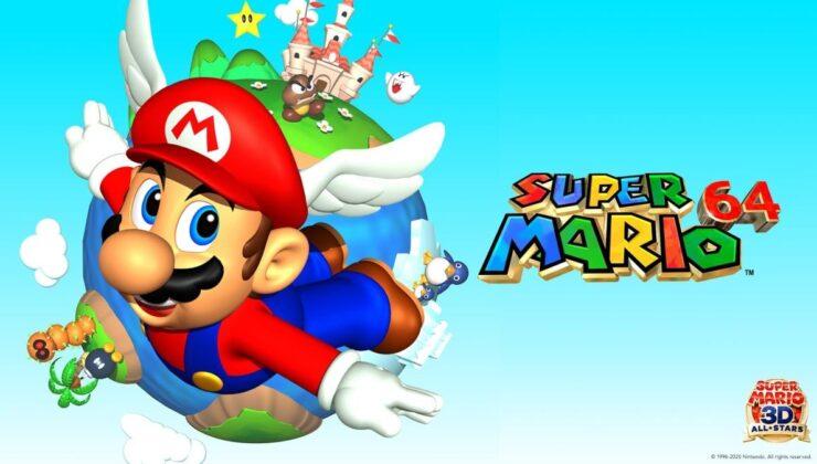 Super Mario 64'ün mühürlü bir kopyası 1.5 milyon dolara satıldı!