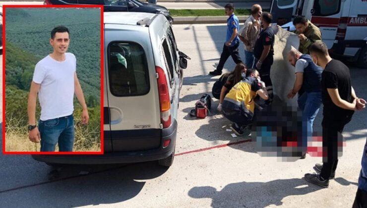 Sürücünün ölümü yürek sızlattı! Camından fırladığı aracının altında kaldı