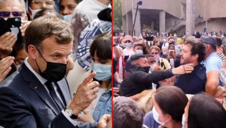 Tapınak ziyaretine giden Macron, 'Sen bir ateistsin' tepkisiyle karşılaşınca neye uğradığını şaşırdı