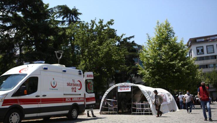 Trabzon'da 18 yaş ve üzerindekilerin yüzde 30,2'si aşılandı