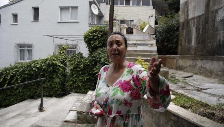 Uzun süredir sözlü tacizine maruz kaldığı komşusu tarafından sokak ortasında yerlerde sürüklendi