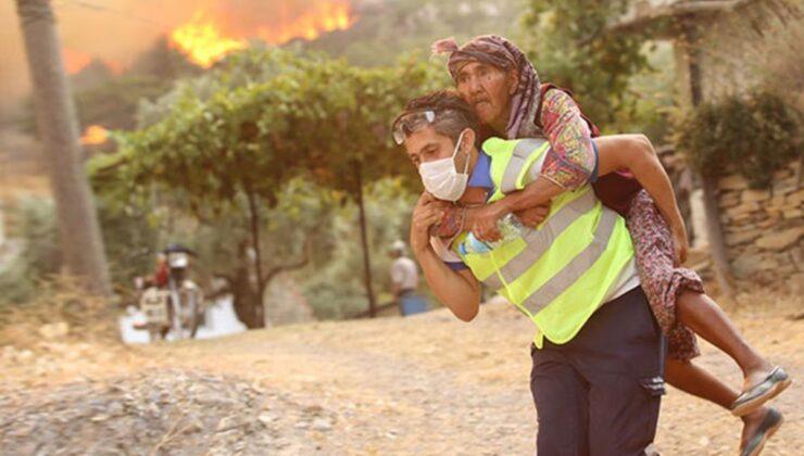Antalya'daki yangını söndürür söndürmez soluğu Muğla'da aldılar! Orman savaşçılarının mücadelesi duygulandırdı