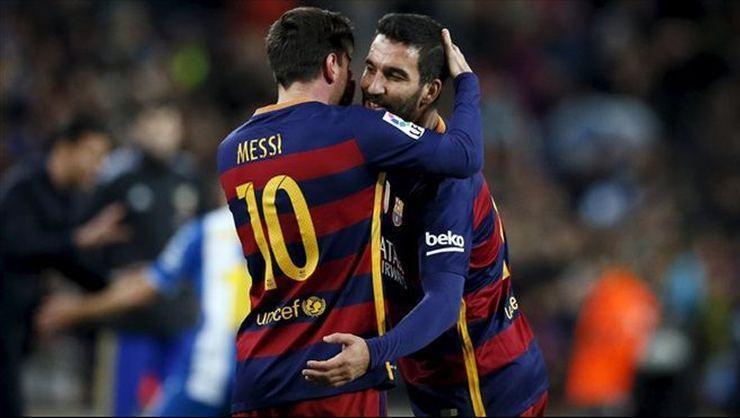 Arda Turandan Messi paylaşımı