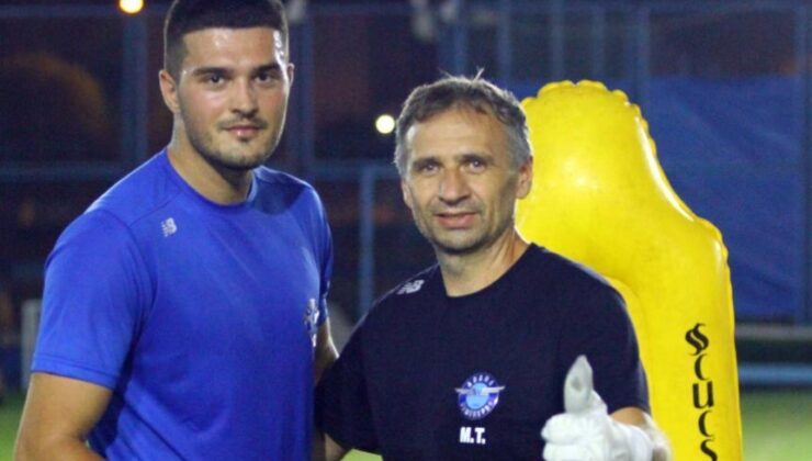 Arijanet Muric: Ligi en iyi yerde bitirmek istiyoruz