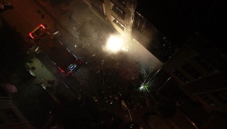 Avcılar'da şiddetli doğalgaz patlaması mahalleliyi sokağa döktü: 3 yaralı