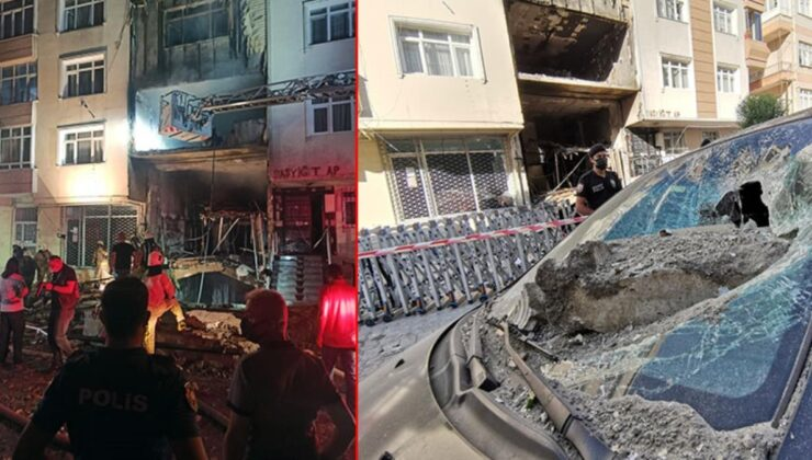 Avcılar'daki patlamanın boyutu gün ağarınca ortaya çıktı! 3 katlı bina adeta enkaza döndü