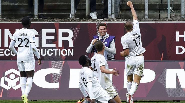 Burak Yılmaz kaldığı yerden! Ligue 1de son 6 maç 7 gol…
