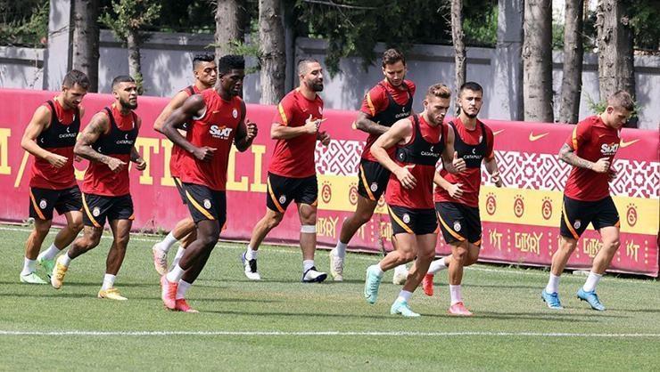 Galatasaray, St. Johnstone maçının hazırlıklarına başladı
