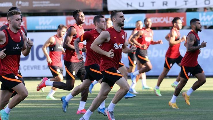 Galatasarayda St. Johnstone mesaisi sürüyor