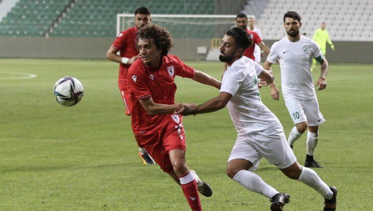 Giresunspor – Samsunspor maç sonucu: 0-0