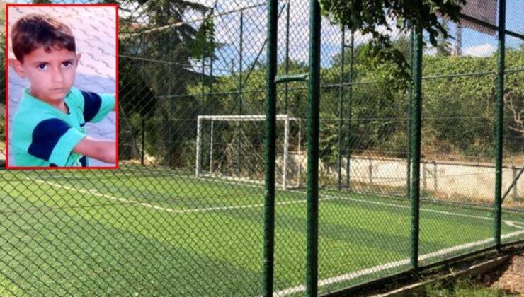 Maçta devrilen kale direği 6 yaşındaki çocuğu yaşamdan kopardı