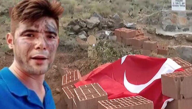 Marmaris yangınının kahramanı Şahin Akdemir'in mezarı tehlikede! Alevlerin gittikçe yaklaşıyor