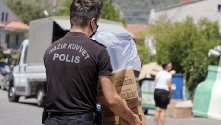 Orman yangınlarından etkilenen bölgelere 72,5 milyon lira nakdi yardım gönderildi