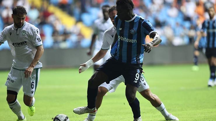 ÖZET | Adana Demirspor-Konyaspor maç sonucu: 1-1