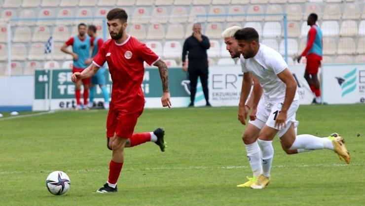 ÖZET   Erzurumspor-Antalyaspor hazırlık maçı: 0-2
