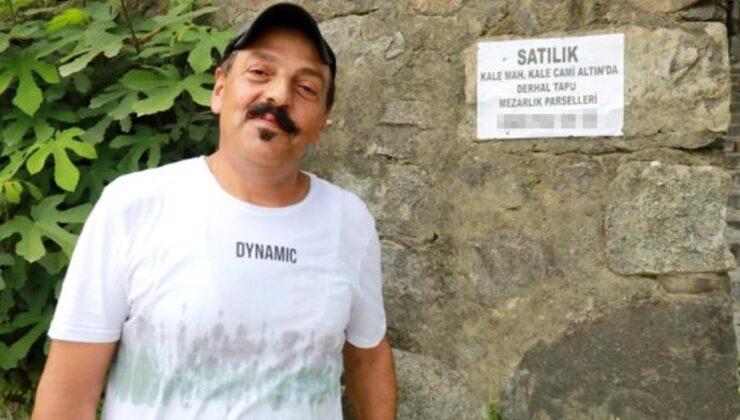 Pandemiden dolayı çalışamayan tiyatrocu Orhan Çağlar, babasından kalan mezarlığı satışa çıkardı