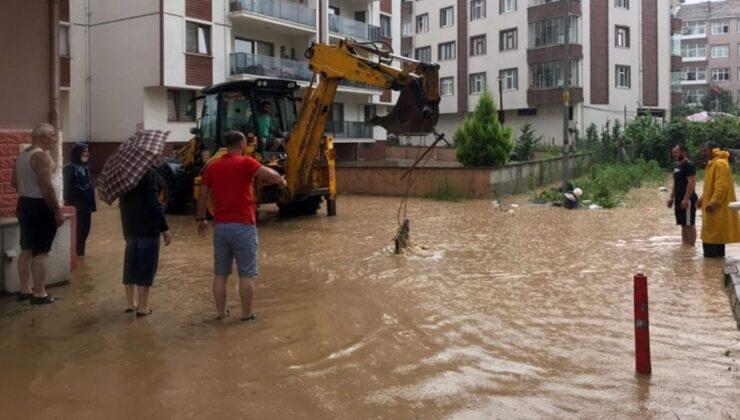 Rize'de sel afetinin alt yapıya verdiği hasar 250 milyon TL