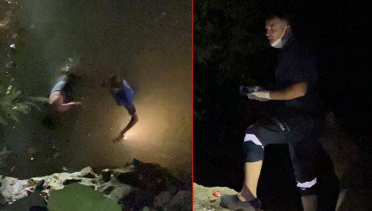 Şelaleden düşen kişiyi kurtarmak için giden sağlık görevlisi, yaralının arkadaşını olduğunu görünce şok yaşadı
