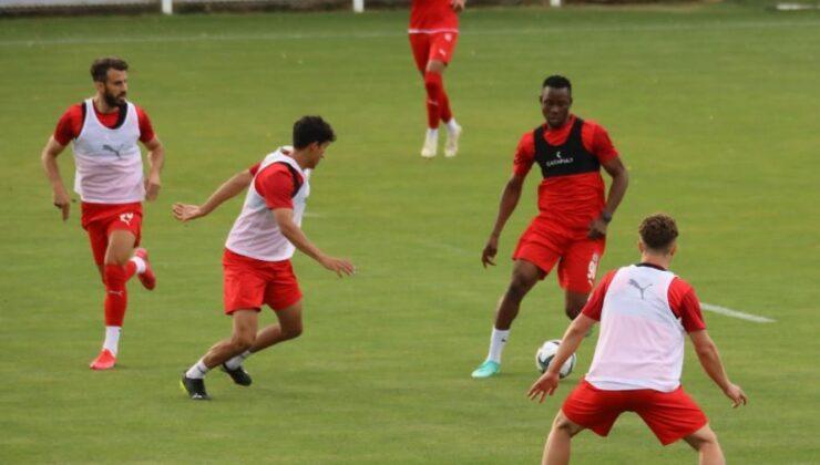 Sivasspor, Dinamo Batumi maçı hazırlıklarına başladı