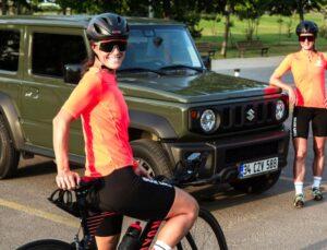 Suzuki Kadın Bisiklet Takımı podyumda!