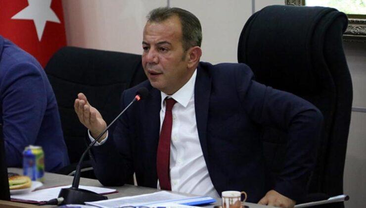 Tanju Özcan'dan kayyum iddialarına çok sert yanıt: Bana kayyum atayacak adamın alnını karışlarım