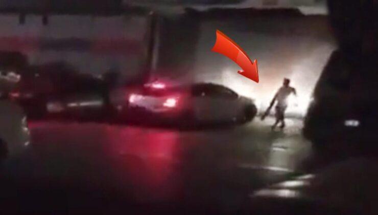 Tartışma sonrası gözü dönen kadın, otomobilini sevgilisinin üzerine sürdü