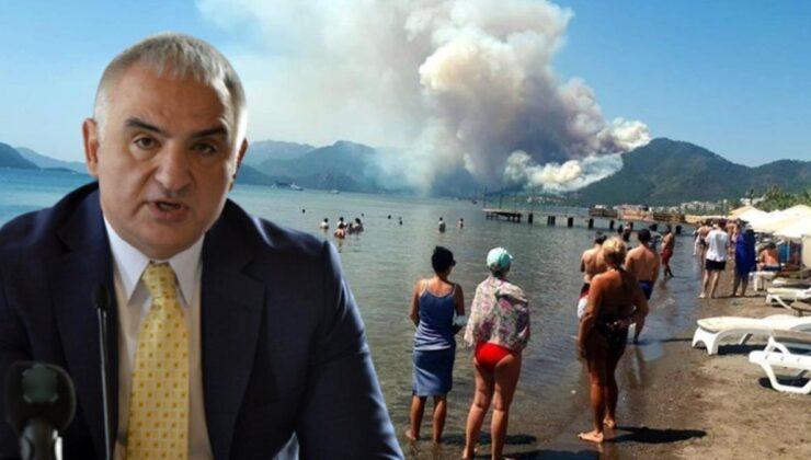 Yangınlara rağmen bu yılki turizm hedefinde değişiklik yok: 25 milyon turist, 20 milyar dolar gelir bekleniyor