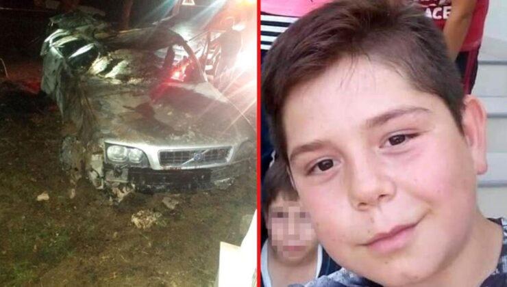 16 yaşındaki gencin kaçamağı faciayla bitti! Alev alan araçta yanarak can verdi