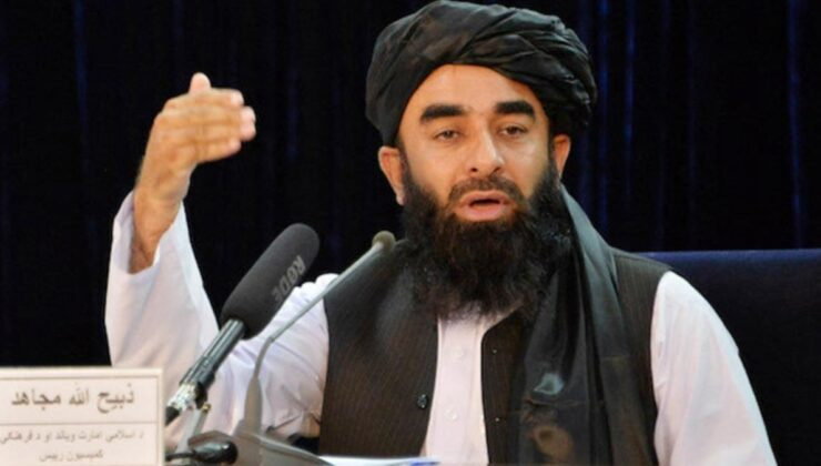 ABD'nin çekilmesinin ardından Taliban'dan ilk açıklama: Dünya ile iyi ilişkilere sahip olmak istiyoruz