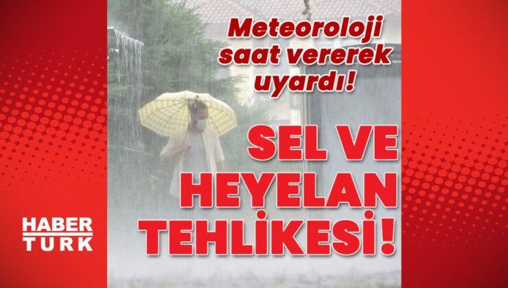 Doğu ve Batı Karadeniz için 'sel' uyarısı