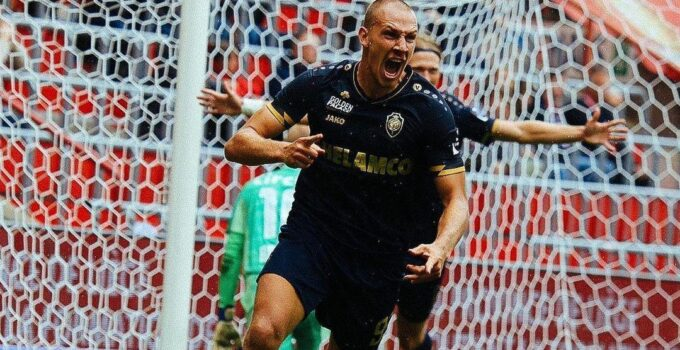 Fenerbahçenin rakibi Antwerpe 3 puanı Michael Frey getirdi