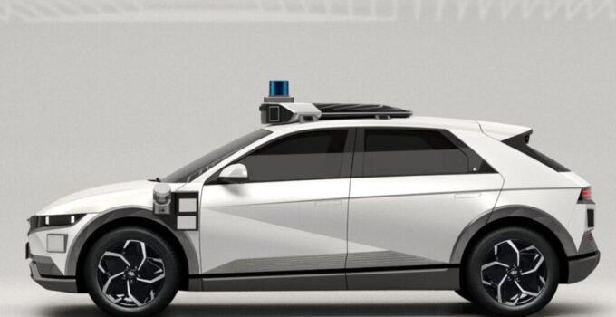 Hyundai ve Motional'dan IONIQ 5 Robotaxi