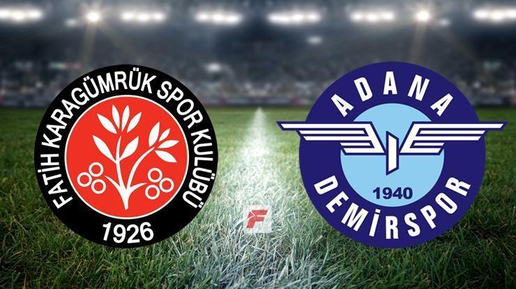 Karagümrük – Adana Demirspor maçı hangi kanalda, saat kaçta?
