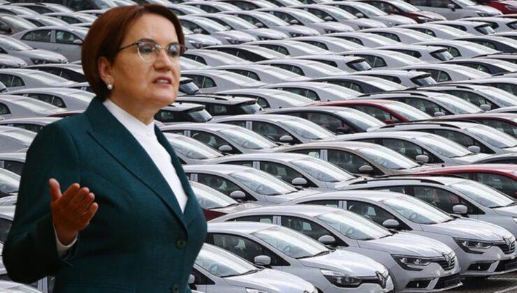 Meral Akşener'den bomba vaat: Otomobilden ÖTV'yi kaldıracağız
