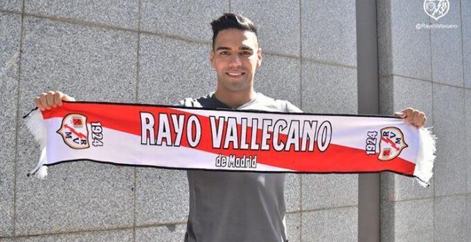 Rayo Vallecanodan Falcao paylaşımı