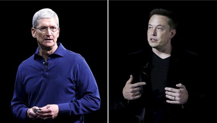 """Apple CEO'su Tim Cook'un Bağdat Caddesi paylaşımına Elon Musk'tan şaşırtan """"bezli"""" tepki"""