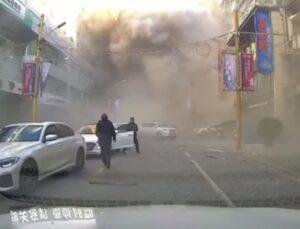 Çin'de müşterilerin yemek yediği sırada restoranda doğalgaz patladı: 3 ölü, 30 yaralı