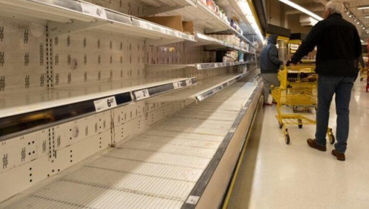 Fransa'da kıtlık baş gösterdi! Ülkede yaşanan gıda krizi market raflarını boşalttı, halk öfkeli