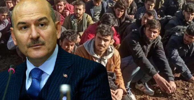 İçişleri Bakanı Soylu: Günlük 2 bin kişinin geldiğini düşünürsek, çok ciddi bir göç tehdidi ile karşı karşıyayız
