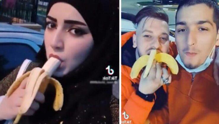 Provokatif amaçlı muz yeme videosu çeken 7 şahıs sınır dışı edilecek